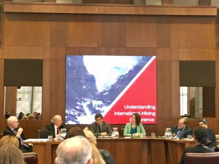 Shin Imai participating as a panelist at the conference on Understanding International Mining hosted by the Munk School of Global Affairs, March 2017
